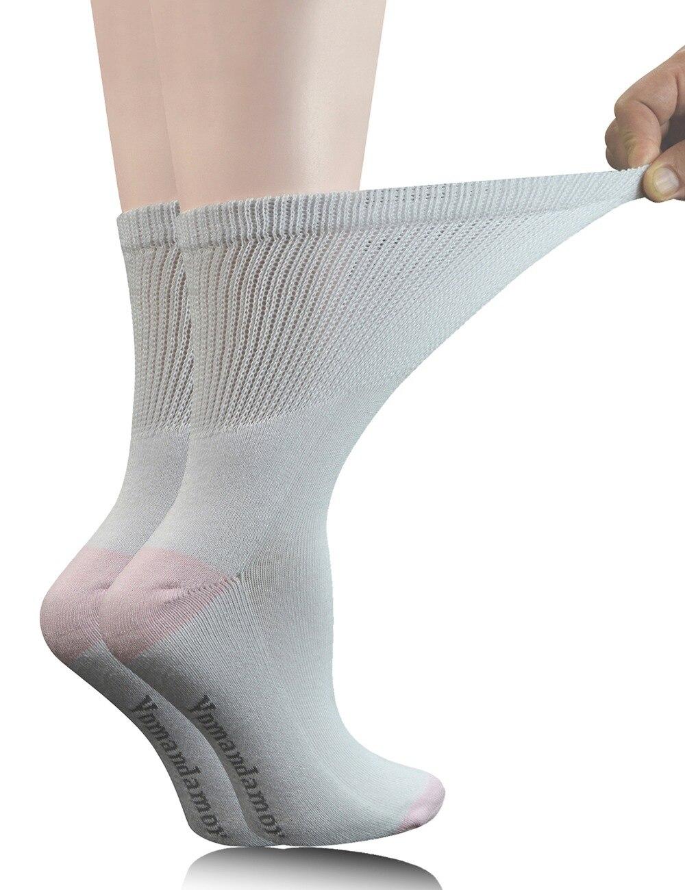 5 пар, женские хлопковые носки с бесшовным носком и подошвой