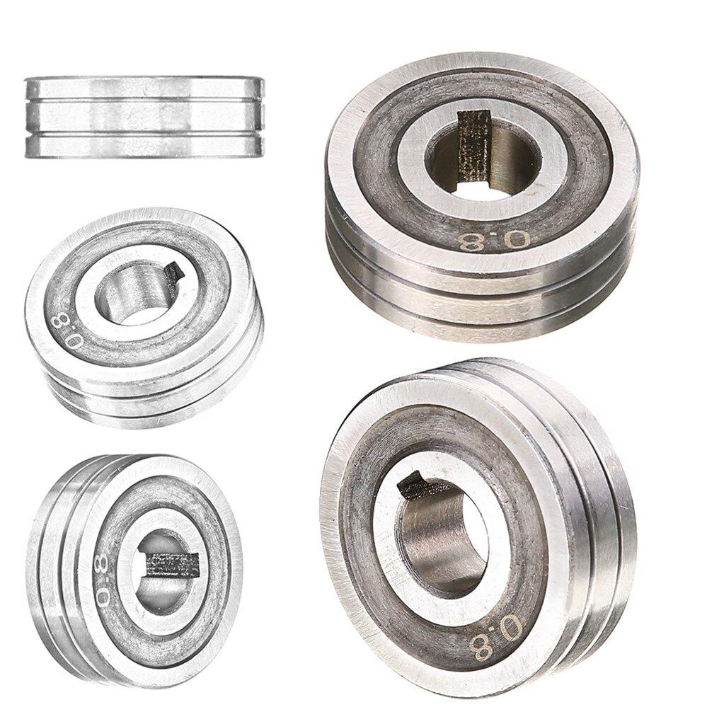 1 stück Schweißer Draht Feed Stick Roller 0,6*0,8 MIG Schweißer Draht Feed Stick Roller Rolle Kunrled-Nut. 030