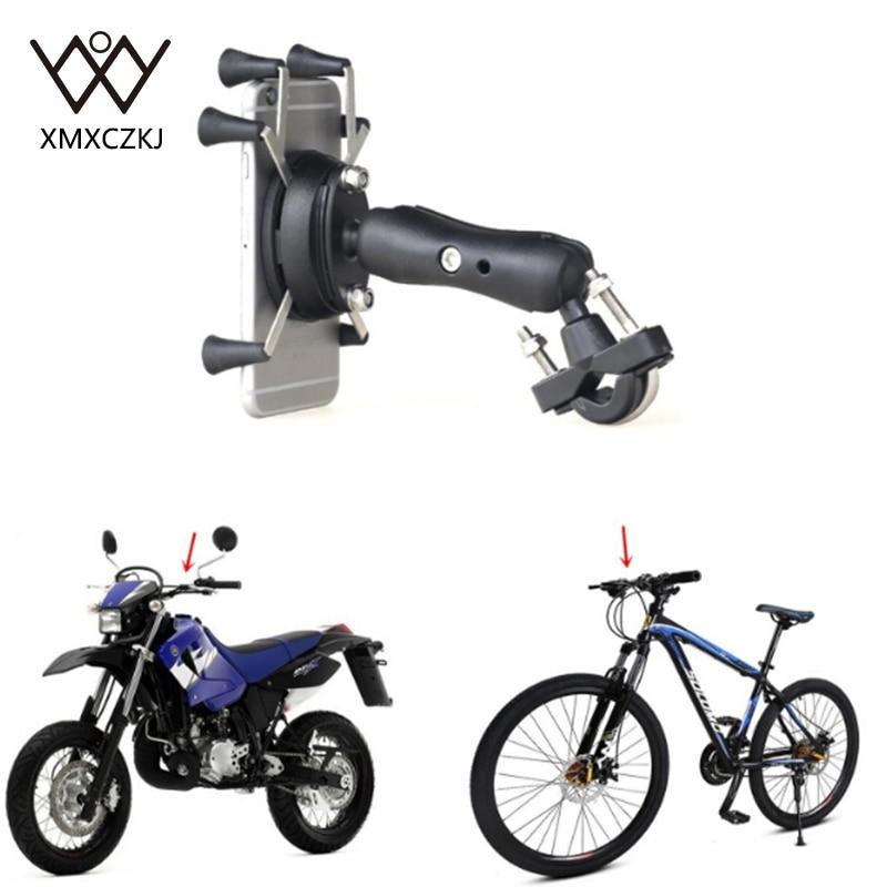 Universal Sepeda Sepeda Motor MTB Sepeda Telepon Pemegang Adjustable - Aksesori dan suku cadang ponsel - Foto 6
