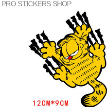 Reflective Tape Cat Claw Cartoon Stickers Car Stickers Car Accessories Golf 7 Car Styling and Decals Motorcycle Stickers
