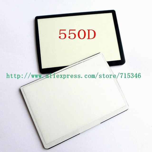 New LCD Screen Window Display (Acrylic) Outer Glass For CANON EOS 550D EOS Rebel T2i EOS Kiss X4 Camera Screen Protector + Tape