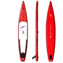 Новый 427*69*15 см AQUA MARINA 2019 RACE надувные sup стоячего доска надувные surf серфинга быстрая скорость гонки водные виды спорта