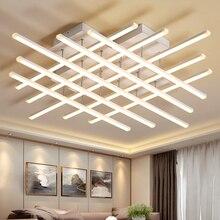 TRAZOS 2019 Rectangle Aluminum Modern Led ceiling lights for living room bedroom AC85-265V White Ceiling Lamp Fixtures цена и фото