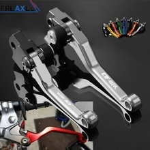 For Honda CRF450R CRF450 R CRF 450 R 2002-2019 CNC Aluminum Adjustable Motocross Dirt Pit Bike Brake Clutch Lever CRF450R цена