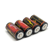 18pcs/lot Trustfire 18350 1200mAh 3.7V Rechargeable Battery Lithium Protected Batteries with PCB For flashlight toys