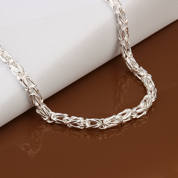 Mens necklace - silver necklace high quality mens jewelry silver chains necklace for men/punk style