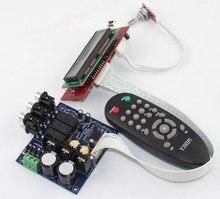 Placa preamplificadora de volumen PGA2311U, control remoto, interruptor de tres entradas, conmutación de señal, placa preacabada