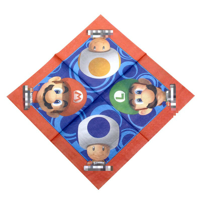 61PCS Boys Favors Happy Baby Shower Party Tablecover Super Mario Theme Napkins Disposable Plates Birthday Decoration Paper Cups in Disposable Party Tableware from Home Garden