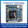 Original 256 M Placa Gráfica Para ASUS NVIDIA HD3400 4720 4710 4920 5920 4730 4630 4930 Placa de Vídeo GPU Substituição testado