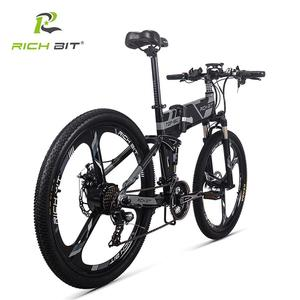Image 2 - RichBit RT 860 36V*250W 12.8Ah Mountain Hybrid Electric Bicycle Cycling European  Quick deliveryFrame Inside Li on Battery Fold