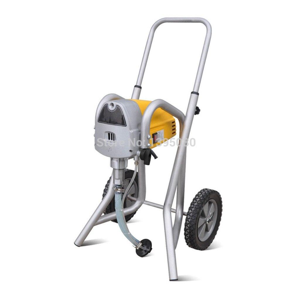 ST-119 Elektrinis beoris dažų purkštuvas 1100W 2,1 L / Min purškimo įrankiai Aukšto slėgio dažymo mašina110V / 220V su anglų kalba