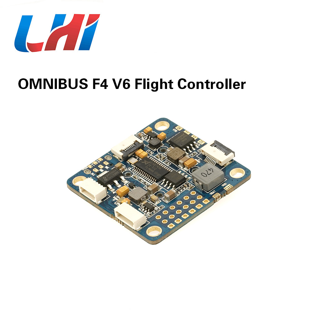 AIRBOT OMNIBUS AIO F4 V6 Flight Control using F4 MCU controls OSD over SPI bus for DIY Quadrocopter FPV Racing Drone Quadcopter