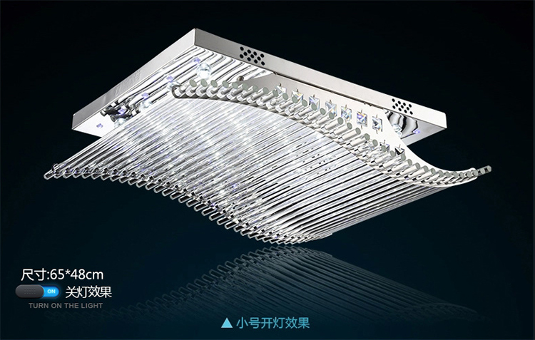 Plafonniere Met Kristallen : Moderne kristallen kroonluchter led kleurverandering met