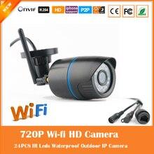 Wi-fi Hd 720 P Пуля Ip-камера Motion Detect Открытый Водонепроницаемый Беспроводной 24 Инфракрасного Ночного Видения Специальное Предложение Freeshipping Горячей