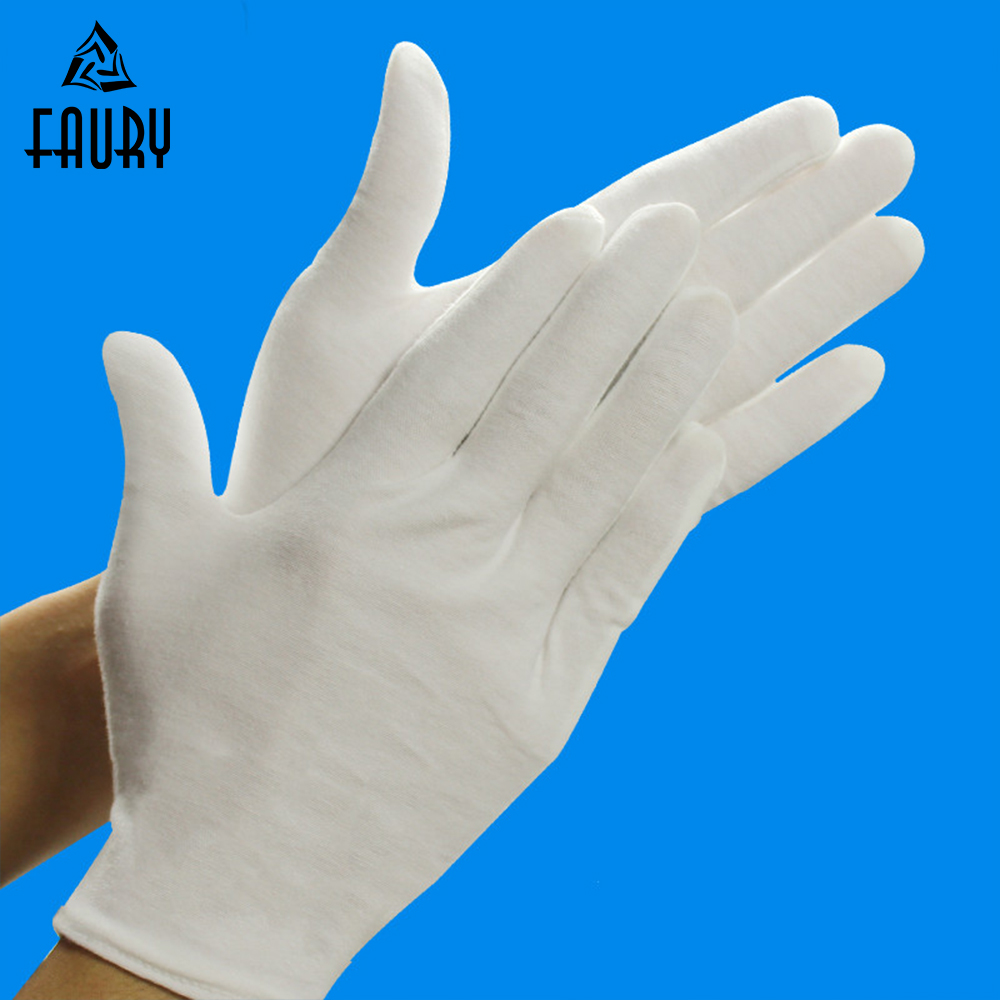 Waiters/drivers/jewelry Gloves Finely Processed Back To Search Resultsapparel Accessories 12 Pairs/lot High Quality Useful White 100% Cotton Ceremonial Gloves For Male Female Serving