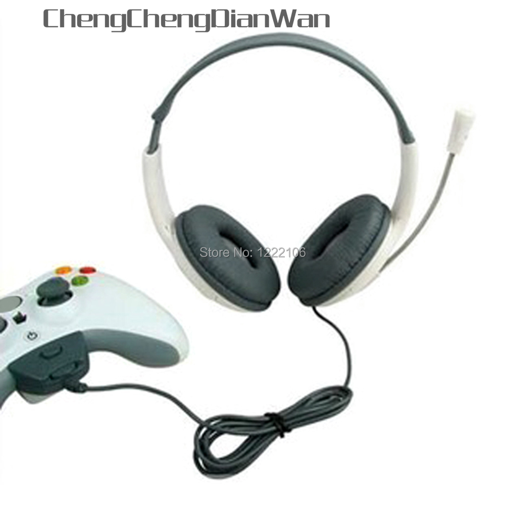 ChengChengDianWan High Quality Gaming Headset Headphone Earphone With Microphone For XBOX 360 XBOX360 PC Games