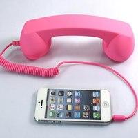 3 5mm Audio AUX Volume Control Retro POP Phone Handset Speaker Mcorphone Phone Call Receiver For
