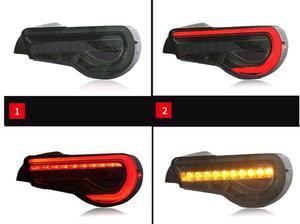 Image 2 - 자동차 범퍼 taillamp 86 for Toyota86 GT86 미등 후방 램프 2012 2013 2014 2015 2016 2017 2018 년 LED 브레이크 + 파크 + 신호등
