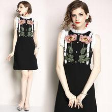 47dd3459e28ce Rose Embroidered Dress Promotion-Shop for Promotional Rose ...