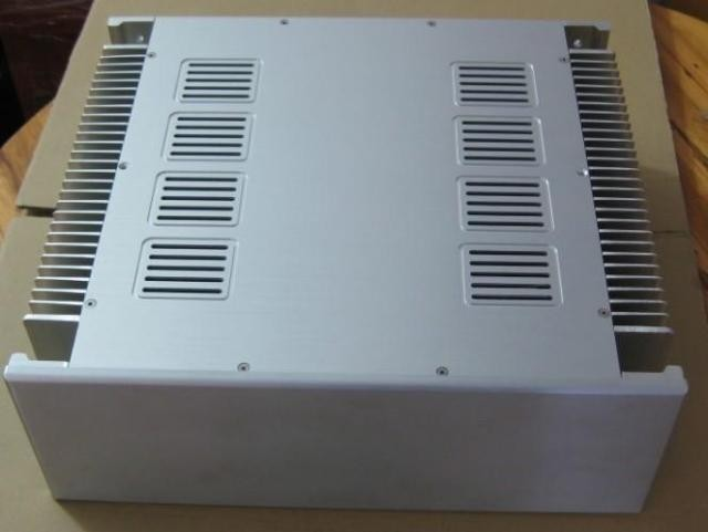 New aluminum amp chassis /home audio amplifier case (size430*150*380MM) пуловер quelle colors for life 731516