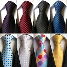 Elegant and Colorful Silk Tie with Dotted Pattern