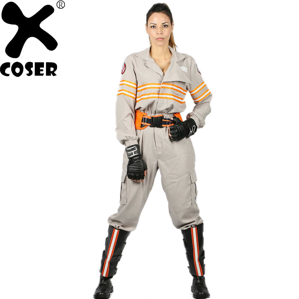 ec0d9e028 XCOSER Ghostbusters 3 Cosplay Costume Jumpsuit Adult Men Women Movie Star  Cosplay Bodysuit Full Set Jumpsuit