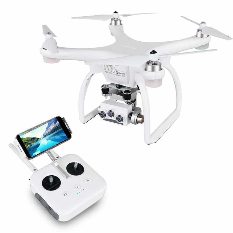 UPair 2 Ultrasone RC Drone 5.8G 1KM FPV 3D + 4K + 16MP Camera Met 3 Axis gimbal GPS RC Quadcopter Drone RTF