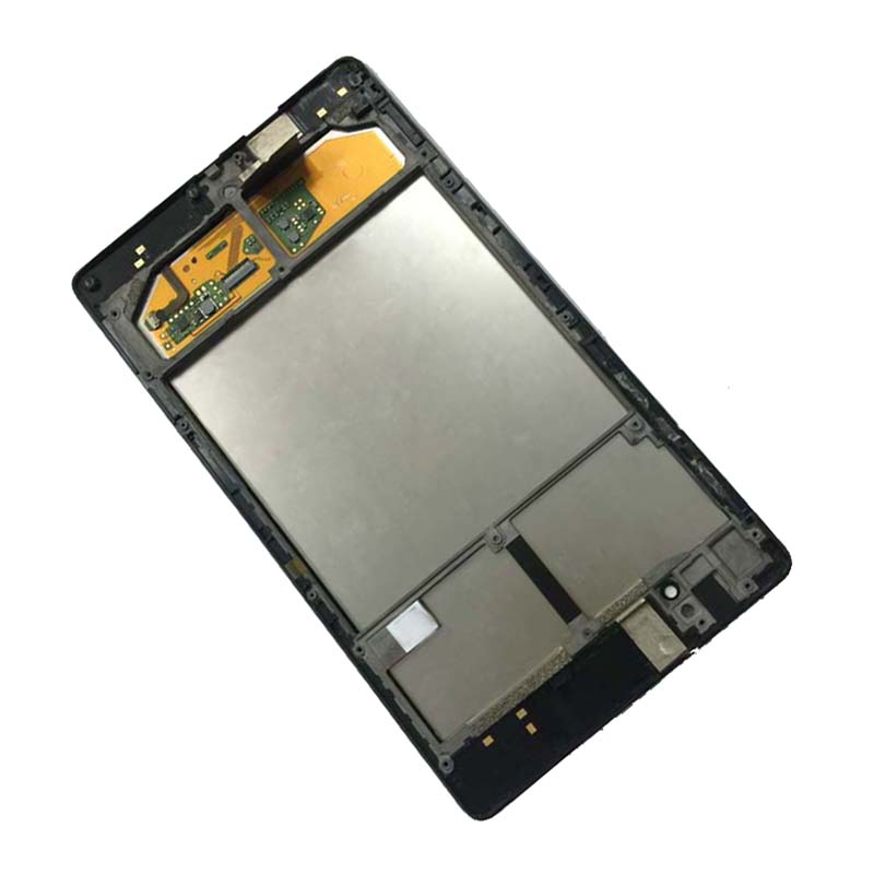 For ASUS Google Nexus 7 2nd 2013 FHD ME571 ME571K ME571KL K008 K009 Touch Screen Sensor + LCD Display Panel Assembly with Frame new original lcd touch screen digitizer with frame for 2013 asus google nexus7 fhd 2nd gen k008 me571 lte 3g free shipping