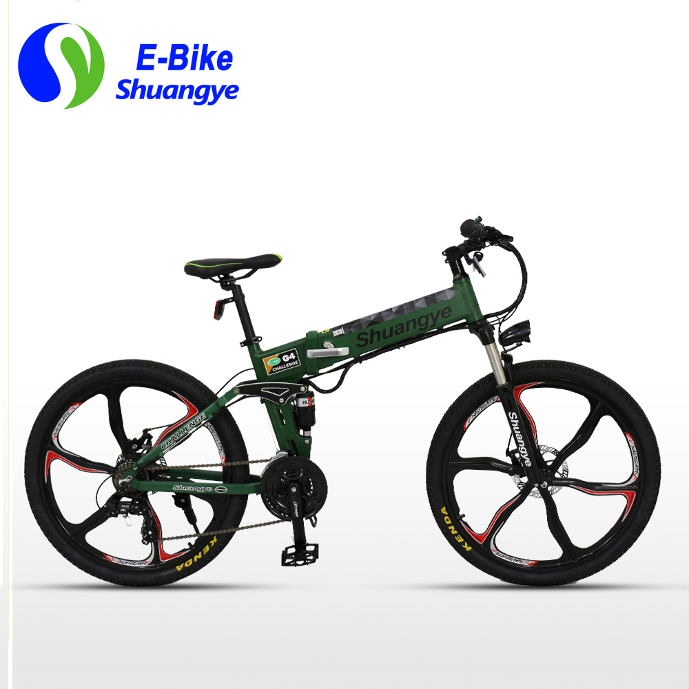 v folding electric mountain bike G with EN