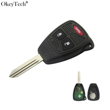 Okeytech 2+1 3 Button Remote Smart Car Key For Chrysler Dodge Caliber Jeep Patriot Pacifica Liberty 315Mhz ID46 PCF7941 Chip