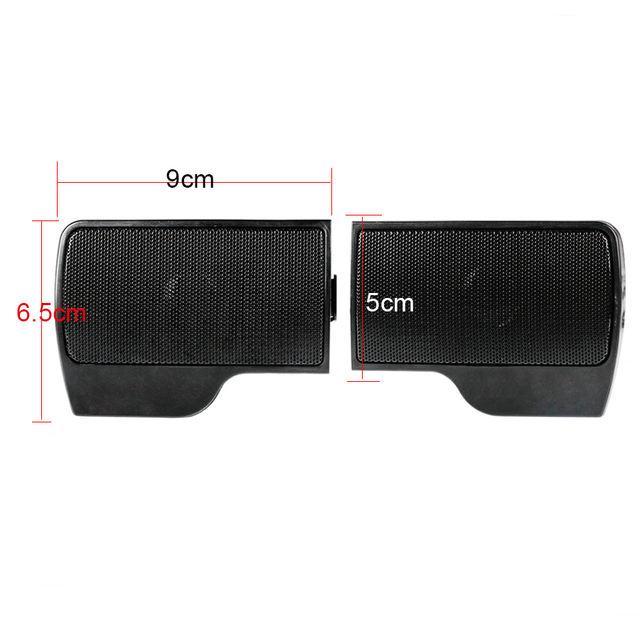 Mini Portable Stereo Multimedia Clip-On PC Speaker