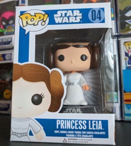 Funko Pop! Star Wars Action Figure – Princess Leia