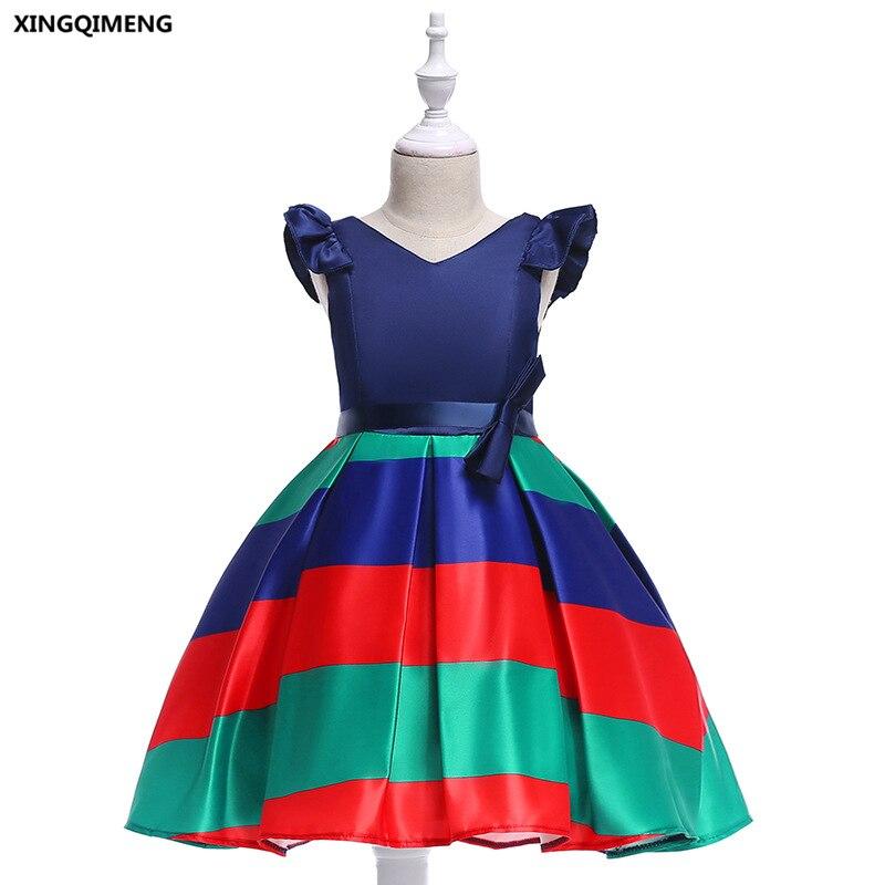 In Stock Cheap Simple Royal Blue Flower Girl Dress For Weddings 3