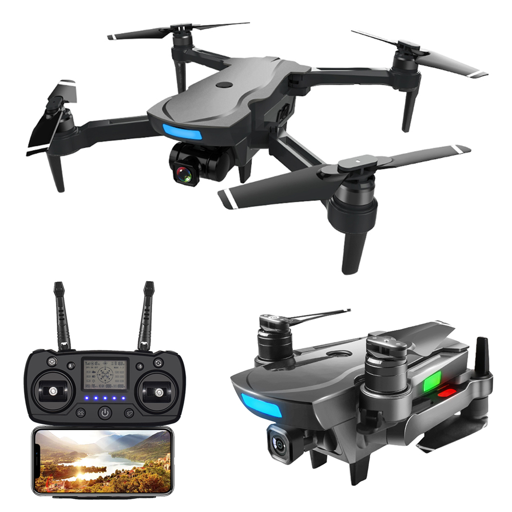AOSENMA CG033 Brushless Motor FPV Helicopter With 1080P HD WIFI Gimbal Camera Dual GPS Foldable RC Quadcopter Drone Kids Gift