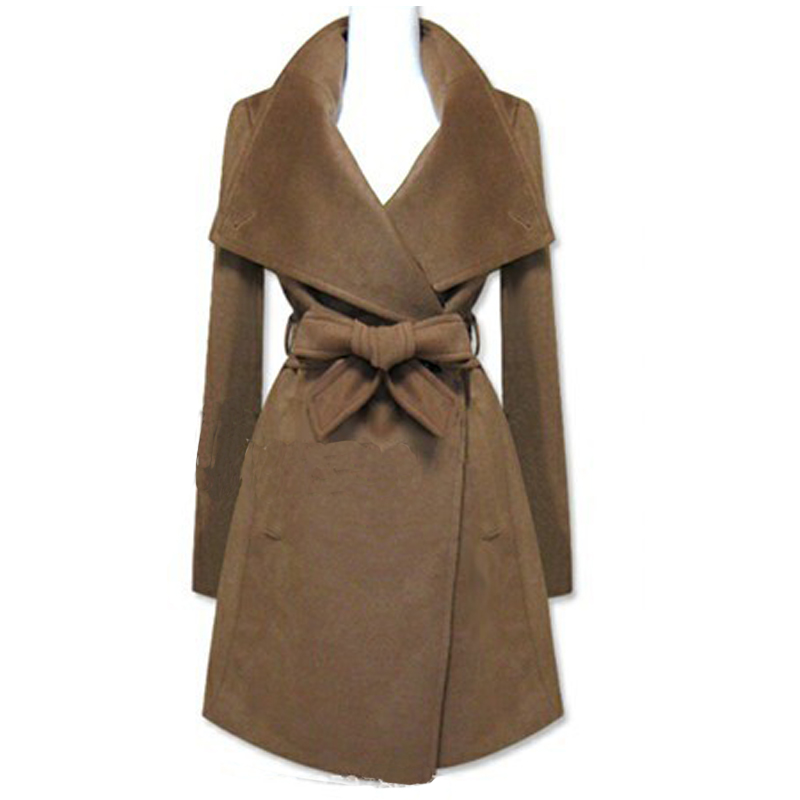 Popular Brown Long Coat-Buy Cheap Brown Long Coat lots from China ...