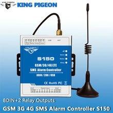 Король Pigeon gsm/3 г/4 г SMS промышленных сигнализации контроллер автоматизации контроллер сигнализации S150 (8DIN, 2 DOUT)