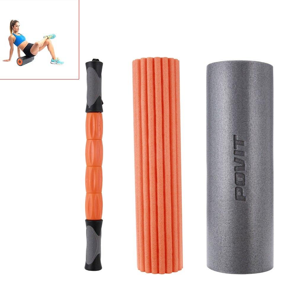 все цены на Yoga Pilates Column Roller with Grid Trigger Point Physio Massage Pilates Tight Muscles Yoga Block +Yoga Foam Roller Yoga Column