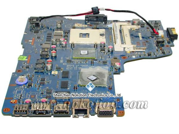 NOKOTION for Toshiba A665 A655D Laptop Motherboard NWQAA LA-6062P K000106370 N11M-GE1-B-A3 Full Tested Good Quality