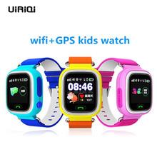 UiRiQi dla dzieci GPS smart watch inteligentny zegarek z WiFi dzieci anty zagubiony Tracker lokalizacja LBS bezpieczeństwa dla dzieci SOS otrzymać telefon zwrotny od PK Q50 Q80 smart watch tanie tanio MTK2503D P-GSM 158MHz Elektroniczny 300-450 mAh Rosyjski english Na nadgarstek Wykonywanie połączeń Pilot MIESIĄC Odbieranie połączeń