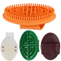Silicone Shampoo Massage Brush Scalp Relaxing Hair Washing Comb Body Shower Brush Slimming Massager