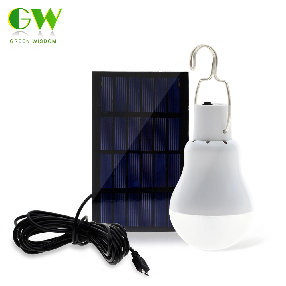 15W Solar Powered Portable LED Lamp for Camping and outdoors