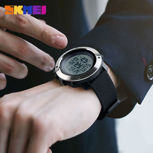 Image 3 - SKMEI Hombres Deportes Relojes Chrono Doble de Tiempo Digital Pantalla LED Reloj de Pulsera 50 M Resistente Al Agua Relogio masculino 1268