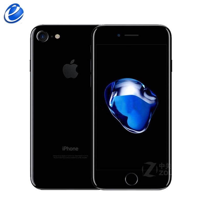 Разблокированный Apple iPhone 7, функция отпечатков пальцев, 4G, LTE, глобальная 32/128 ГБ Встроенная память IOS мобильного телефона 12.0MP gps Quad-Core телефон 1960mA