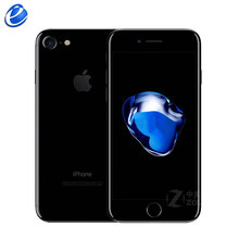 Unlocked Apple iPhone 7 Parmak Izi 4G LTE küresel 32/128 GB ROM ios cep telefonu 12.0MP GPS Dört Çekirdekli cep telefonu 1960mA(China)