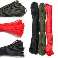 31 m comprimento 2mm paracord paraquedas corda corda corda corda multifuncional cintas mil especificação sobrevivência amarrada corda escalada ao ar livre Redes    -
