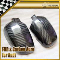 Car styling For Audi 02 05 A4 B6 Carbon Fiber Side Mirror Cover