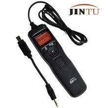 JINTU ЖК-дисплей Интервалометр таймера дистанционного управления спуска затвора для Nikon D90 D5300 D3100 D3200 D5000 D5100 D7000 SLR