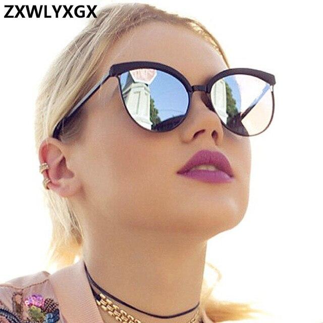 Designer de marca Óculos De Sol Das Mulheres de Luxo de Plástico Óculos de Sol Clássico Retro Olho de Gato Ao Ar Livre Oculos de sol Gafas