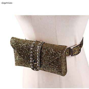a3fe715d Venta caliente elástico cummerbunds mujeres moda novedad oro metal gran  arco hebilla cummerbund ...