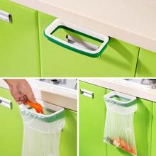 Super Deal garbage bag holder Hanging Kitchen Cupboard Cabinet Tailgate Stand Storage Garbage Bags Rack Rubbish Bag Storage Rack